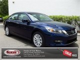 2013 Obsidian Blue Pearl Honda Accord EX Sedan #80722862