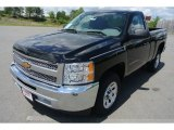 2013 Black Chevrolet Silverado 1500 LS Regular Cab #80723424