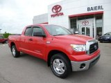 2007 Radiant Red Toyota Tundra SR5 TRD Double Cab 4x4 #80723633