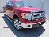2013 Ruby Red Metallic Ford F150 XLT SuperCrew #80723186