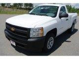 2013 Summit White Chevrolet Silverado 1500 Work Truck Regular Cab #80723422