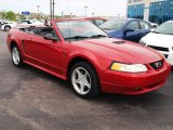 2000 Ford Mustang GT Convertible Front 3/4 View