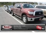 Salsa Red Pearl Toyota Tundra in 2010