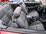 2000 Ford Mustang GT Convertible Dark Charcoal Interior