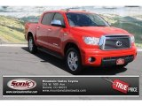 2010 Radiant Red Toyota Tundra Limited CrewMax 4x4 #80722837