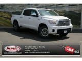 2013 Super White Toyota Tundra TRD Rock Warrior CrewMax 4x4 #80722834