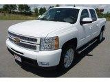 2013 Summit White Chevrolet Silverado 1500 LTZ Crew Cab 4x4 #80723411