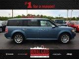 2010 Steel Blue Metallic Ford Flex Limited #80722933