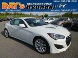 2013 White Satin Pearl Hyundai Genesis Coupe 2.0T Premium #80723524