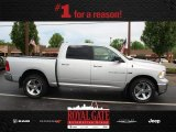 2012 Bright Silver Metallic Dodge Ram 1500 Big Horn Crew Cab 4x4 #80722932