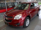 2010 Cardinal Red Metallic Chevrolet Equinox LS AWD #80723401