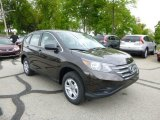 2013 Kona Coffee Metallic Honda CR-V LX AWD #80723501