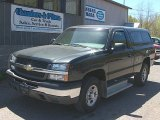 2003 Dark Gray Metallic Chevrolet Silverado 1500 Regular Cab 4x4 #80723151