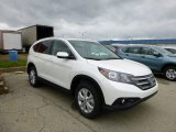 2013 White Diamond Pearl Honda CR-V EX-L AWD #80723495