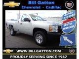 2013 Silver Ice Metallic Chevrolet Silverado 1500 Work Truck Regular Cab #80785582