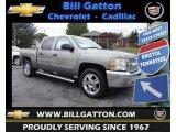 2013 Graystone Metallic Chevrolet Silverado 1500 LT Crew Cab 4x4 #80785580