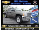 2013 Graystone Metallic Chevrolet Silverado 1500 LT Crew Cab 4x4 #80785579