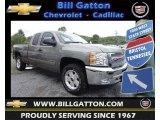 2013 Graystone Metallic Chevrolet Silverado 1500 LT Extended Cab 4x4 #80785578
