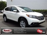 2013 White Diamond Pearl Honda CR-V EX-L #80784922