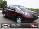 2013 Basque Red Pearl II Honda CR-V LX #80784921