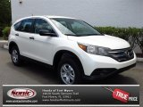 2013 White Diamond Pearl Honda CR-V LX #80784920