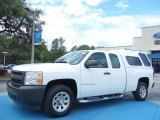 2008 Summit White Chevrolet Silverado 1500 Work Truck Extended Cab #80785127