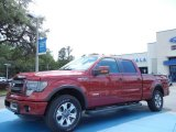 2013 Ruby Red Metallic Ford F150 FX4 SuperCrew 4x4 #80785116