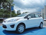 2013 Oxford White Ford Fiesta S Sedan #80785108