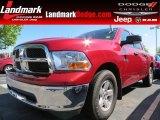 2009 Inferno Red Crystal Pearl Dodge Ram 1500 SLT Crew Cab #80785221