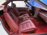 Cadillac Allante Interiors