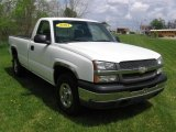 2003 Summit White Chevrolet Silverado 1500 Regular Cab 4x4 #80785656