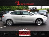 2013 Bright Silver Metallic Dodge Dart Limited #80784982