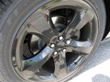 2013 Dodge Challenger R/T Blacktop Wheel
