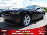 2013 Pitch Black Dodge Challenger SXT #80785176