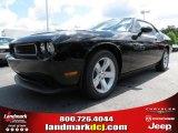 2013 Pitch Black Dodge Challenger SXT #80785175