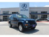 2002 Patriot Blue Pearlcoat Jeep Liberty Limited #80784939