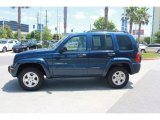 Patriot Blue Pearlcoat Jeep Liberty in 2002