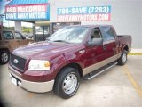 2006 Dark Toreador Red Metallic Ford F150 XLT SuperCrew #80785084
