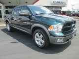 2011 Hunter Green Pearl Dodge Ram 1500 SLT Crew Cab 4x4 #80785416