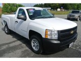 2009 Summit White Chevrolet Silverado 1500 Regular Cab #80785500