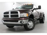 2004 Dodge Ram 3500 SLT Regular Cab 4x4 Dually Front 3/4 View