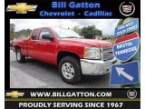 2013 Victory Red Chevrolet Silverado 1500 LT Extended Cab 4x4 #80785590