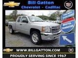 2013 Silver Ice Metallic Chevrolet Silverado 1500 LT Extended Cab #80785589