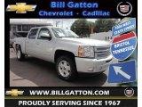 2013 Silver Ice Metallic Chevrolet Silverado 1500 LT Crew Cab 4x4 #80785586