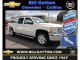 2013 White Diamond Tricoat Chevrolet Silverado 1500 LT Crew Cab 4x4 #80785585