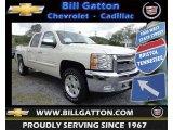 2013 White Diamond Tricoat Chevrolet Silverado 1500 LT Crew Cab 4x4 #80785584