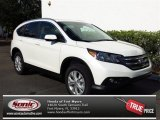 2013 White Diamond Pearl Honda CR-V EX-L #80837767