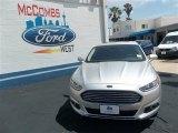 2013 Ingot Silver Metallic Ford Fusion Hybrid SE #80837878
