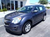 2013 Atlantis Blue Metallic Chevrolet Equinox LS #80838537