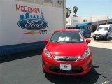 2013 Race Red Ford Fiesta SE Sedan #80837872